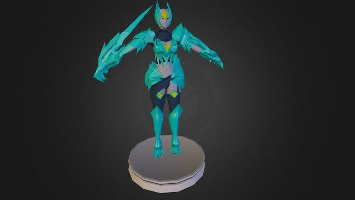 Ice Drake Shyvan 3D Model