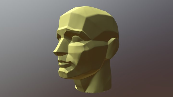 Обрубовка без подставки 3D Model