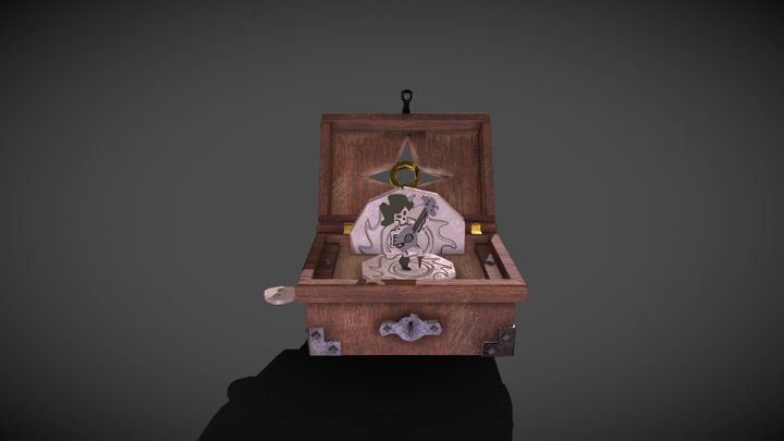Sea of Thieves - Music Box 3D Model