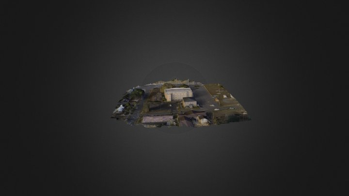 WC Old Courthouse and Jail 3D Model