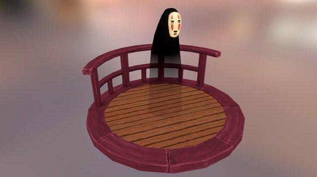 No-Face (Kaonashi) 3D Model
