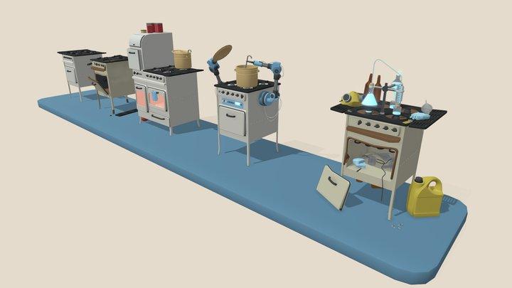 tula stove 3D Model