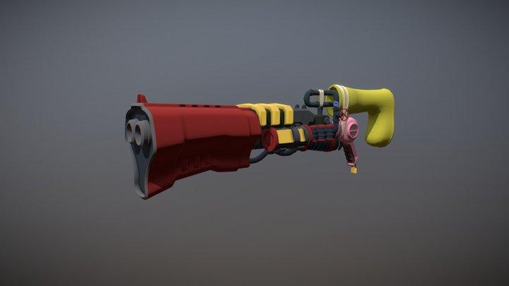 Day-2 | Shotgun 3D Model