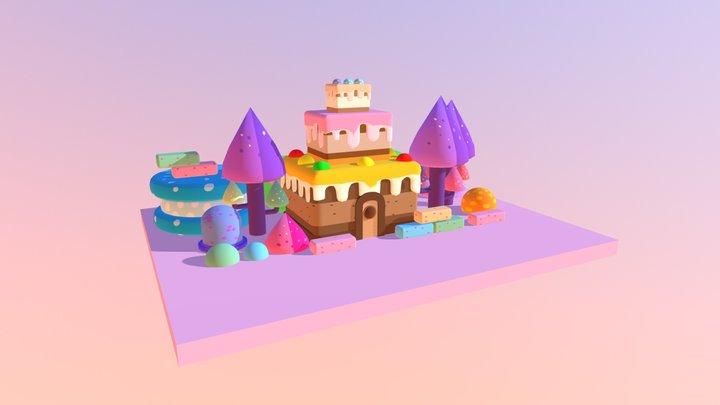 CAKE House 3D Model