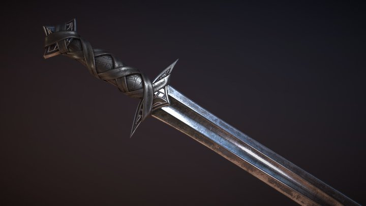 Sarta Sword 3D Model