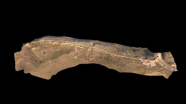 Hippos Saddle Ridge - December 16 3D Model
