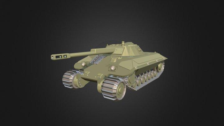 Rozanov Heavy Tank 3D Model