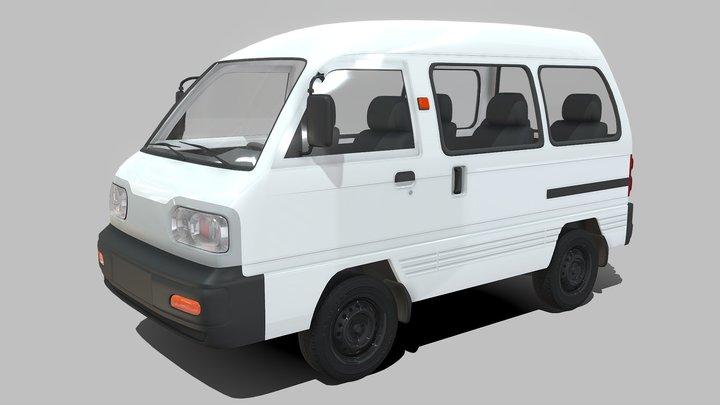 Chevrolet Damas 3D Model