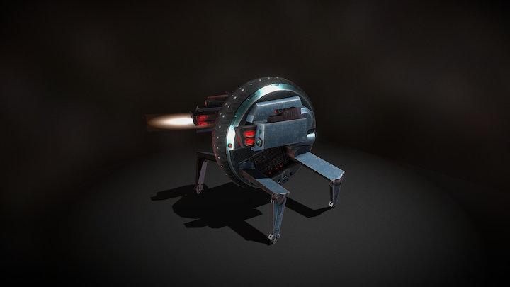 Transformer MonoWheel 3D Model