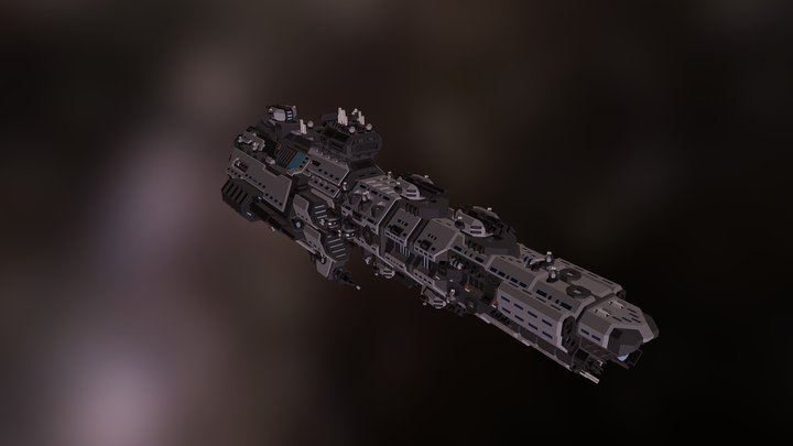CL-2 Winters Storm 3D Model