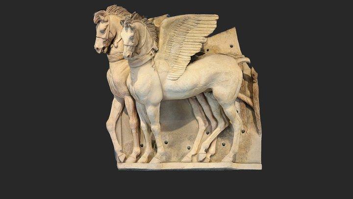 Cavalli Alati demo 3D Model