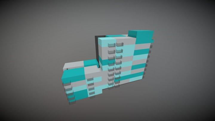 Meridian sales Block C 3D Model