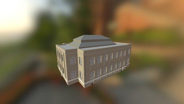 Penn State University 1922: Carnegie Building 3D Model