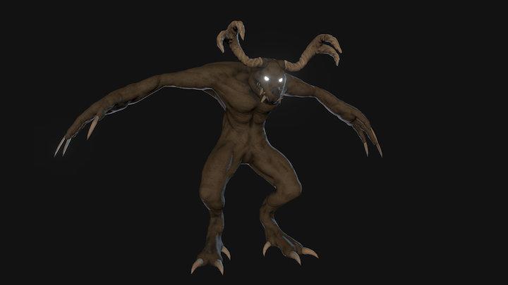 Horror inspired Vendigo 3D Model