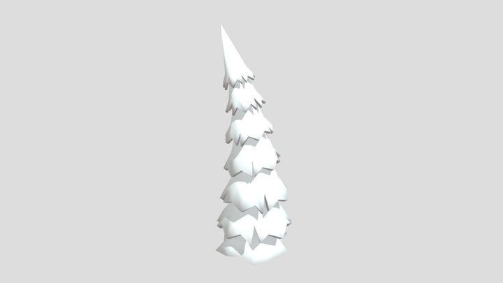 Stylized Tree 3D Model