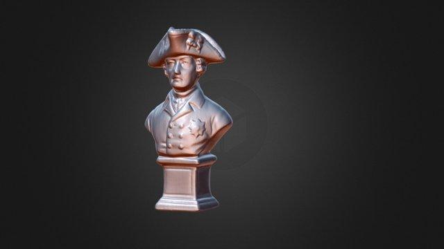 Alter Fritz DAVID 3D- Builder 3D Model