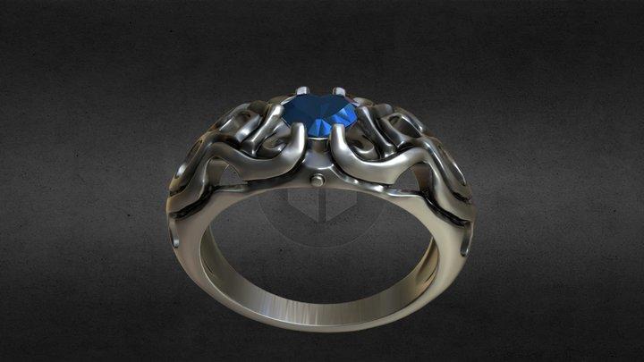 Heart_ring 3D Model