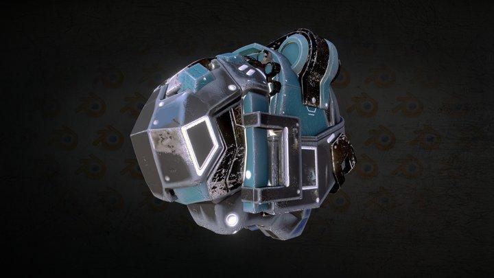 11-10 TestHelmet 3D Model