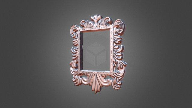 Ornamental Frame 001 3D Model