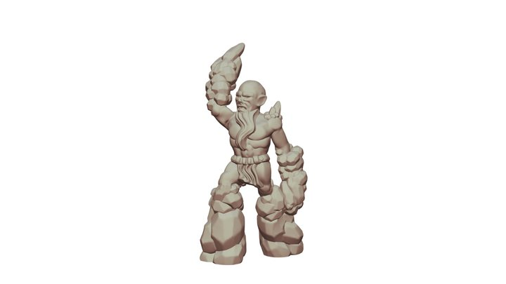 Stoneblood 3D Model