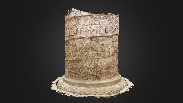 Trajan's Column - Low Res Version 3D Model