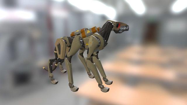 Cyberhound 3D Model