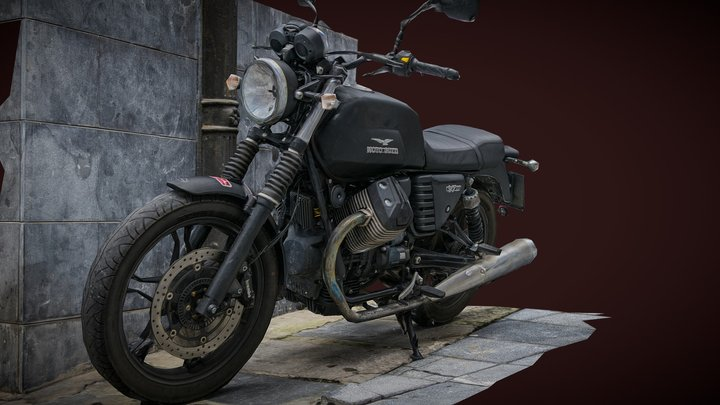MOTO GUZZI V7 photogrammetry scan 3D Model