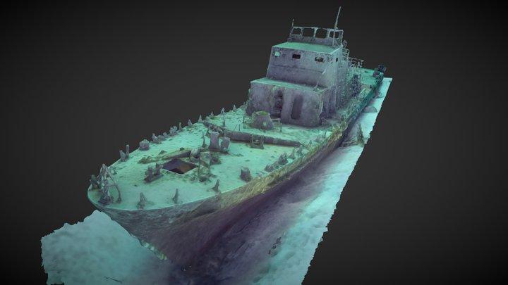 Maltese patrol boat P31 3D Model