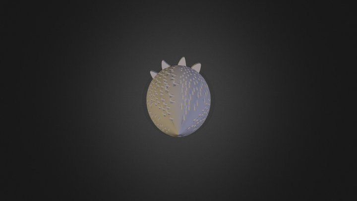 תות סביבון 1 3D Model