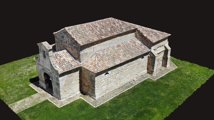Iglesia de San Juan Bautista. Baños de Cerrato 3D Model