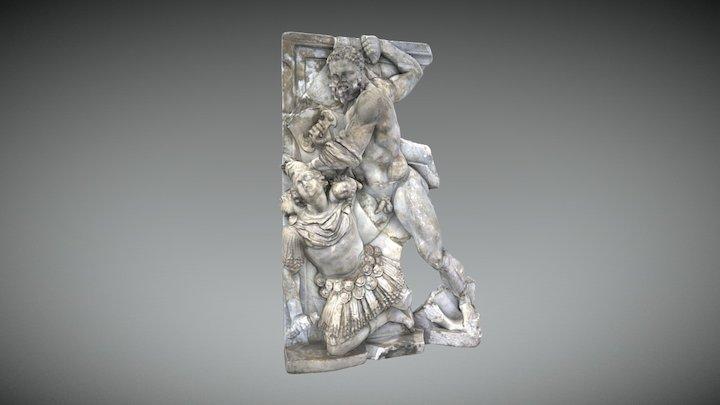 Hercule tuant Géryon 3D Model