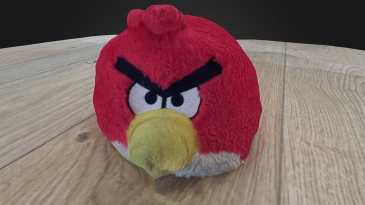 Angry 3dst 3D Model