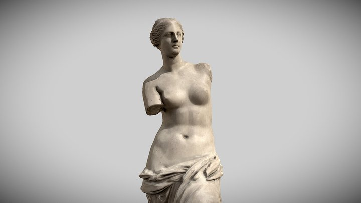 Venus de Milo (Aphrodite) 3D Model