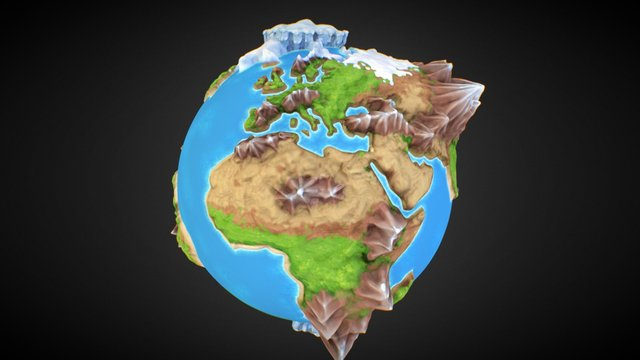 The Whole World 3D Model