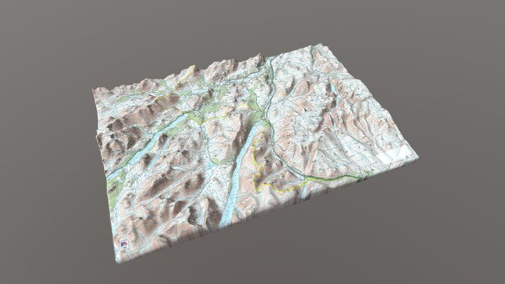 DALWHINNIE 3D Model