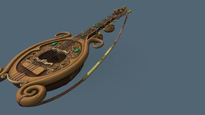Sitar 3D Model
