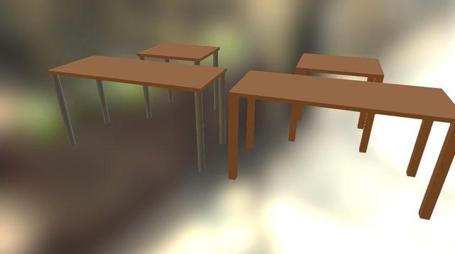 Tables 3D Model