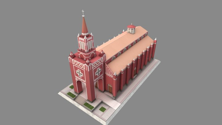 Iglesia San Francisco 3D Model
