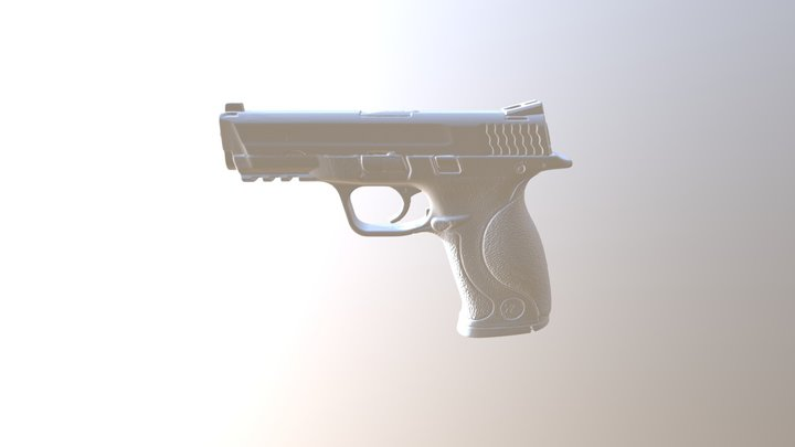 159 - M&P9 3D Model
