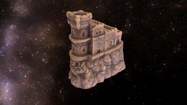 Swallow's Nest castle 3D Model