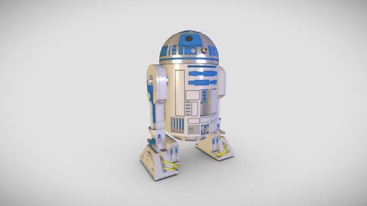 R2- D2 3D Model