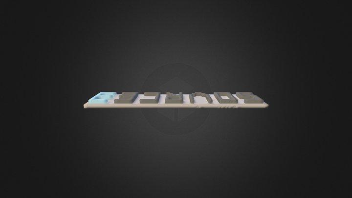 Source3 CUBE 3D Model