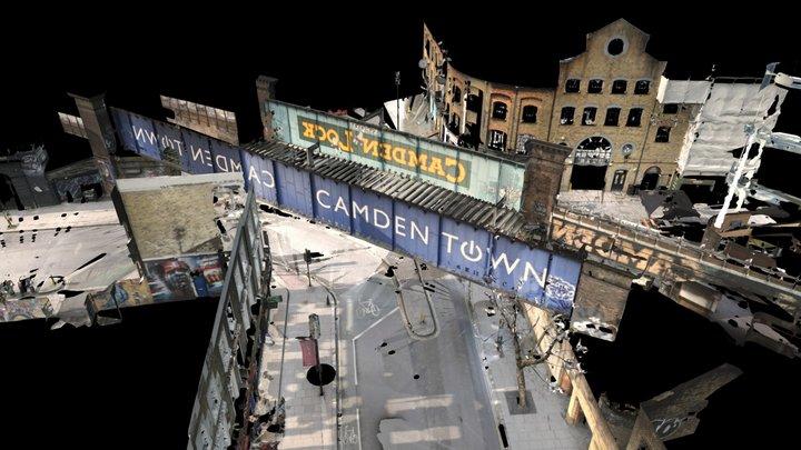 Camden Lock, London - 3D Point Cloud (E,C) 3D Model