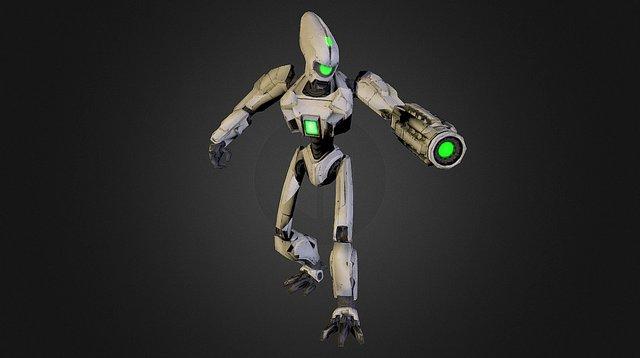 Mecha Drak 3D Model