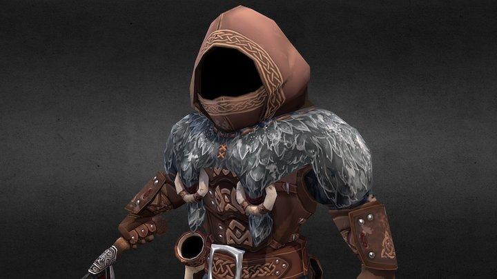 EINHERJAR Thieves Leader 英靈戰士 盜賊首領 3D Model