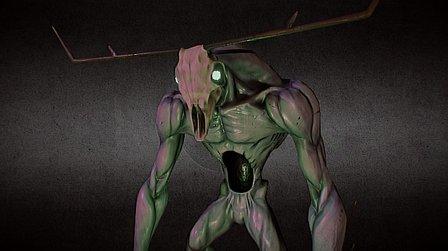 Wendigo - Creature 3D Model