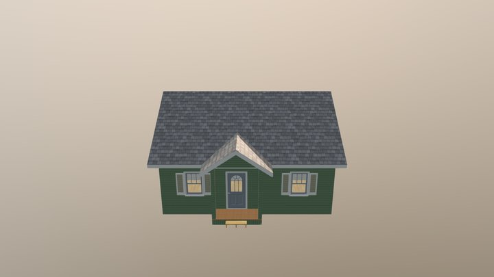 Bungalow The Colbert 3D Model