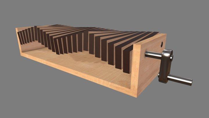 Sea Wave Automata 3D Model