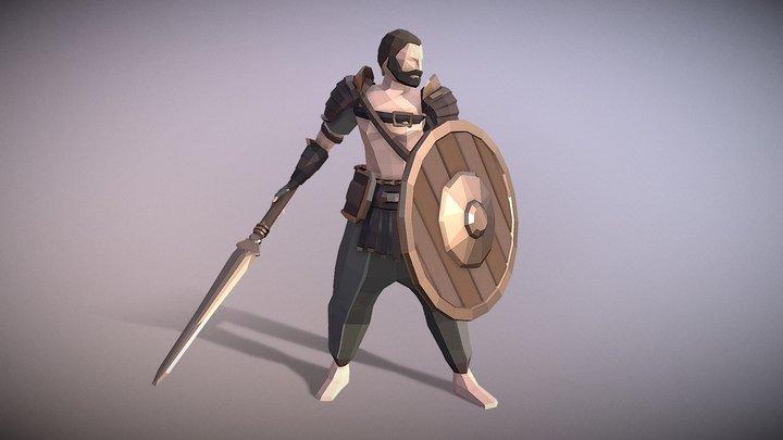 Wild Gladiator 3D Model