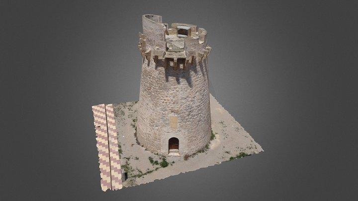 Torre del Marenyet. Cullera (Valencia) 3D Model